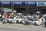 Die BMW Teamkollegen Bill Auberlen/Dirk Werner und Dirk M?r/Joey Hand vom RLL-Team
