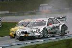 Jamie Green (HWA-Mercedes) und Mike Rockenfeller (Abt-Audi)