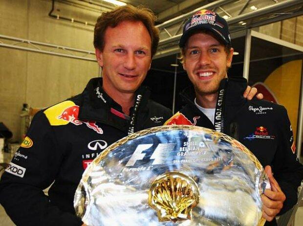 Christian Horner (Teamchef), Sebastian Vettel