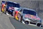Die Red-Bull-Teamkollegen Brian Vickers und Kasey Kahne zeigten ein starkes Rennen