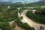 Aus der Vogelperspektive: Das Gelände für die neue Rennstrecke