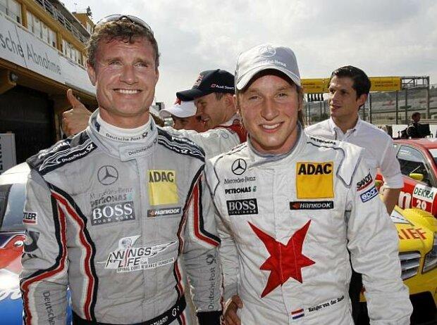 Renger van der Zande, David Coulthard