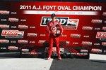 Scott Dixon gewann die A.J.-Foyt-Trophy für den punktbesten Oval-Piloten der Saison