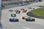 Race Action auf dem Kentucky Speedway