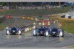Start zum Petit Le Mans in Road Atlanta
