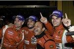 Gianmaria Bruni/Giancarlo Fisichella/Pierre Kaffer gewannen die GT-Klasse