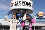 James Hinchcliffe und J.R. Hildebrand kämpfen in Las Vegas um den Rookie-Titel
