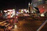 34 IndyCars auf dem Las Vegas Boulevard, auch genannt der Sunset Strip