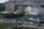 Der Massencrash in Las Vegas, der Dan Wheldon das Leben kostete