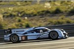 Stephane Sarrazin und Nicolas Minassian testen den 908 HYbrid4 in Estoril