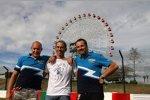 Robert Huff (Chevrolet), Alain Menu (Chevrolet), Yvan Muller (Chevrolet)