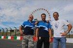 Robert Huff (Chevrolet), Yvan Muller (Chevrolet), Alain Menu (Chevrolet)