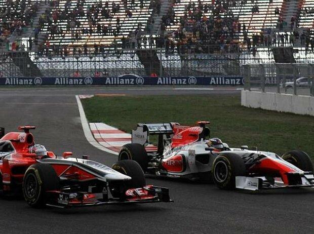 Timo Glock, Daniel Ricciardo