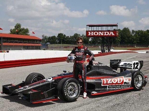 Dan Wheldon IndyCar 2012