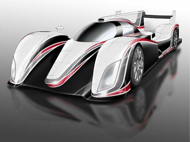 Toyota LMP1 für 2012