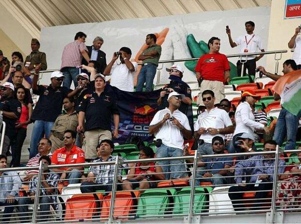 Fans in Indien