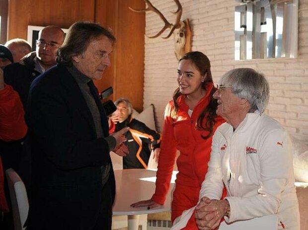 Luca di Montezemolo, Tamara und Bernie Ecclestone
