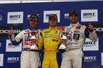 Colin Turkington (Wiechers), Kristian Poulsen (Engstler), Mehdi Bennani (Proteam)