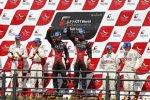 Die drei bestplatzierten Fahrerpaarungen der GT1-WM 2011
