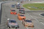 Race Action im AAA Texas 500
