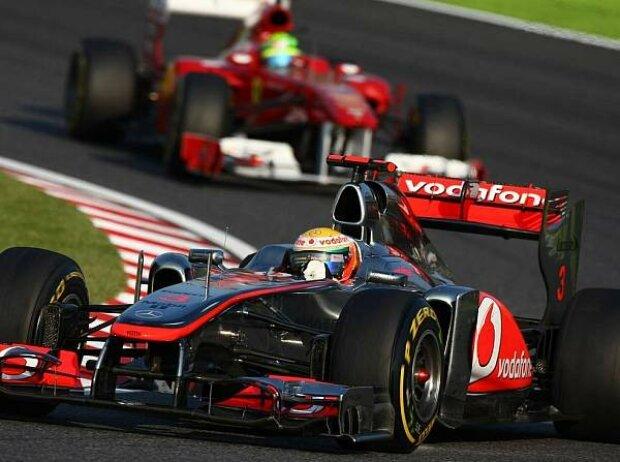 Felipe Massa, Lewis Hamilton