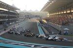 Vorn: Adrian Sutil (Force India) und Kamui Kobayashi (Sauber)