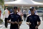 Pastor Maldonado und Rubens Barrichello (Williams)