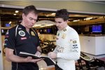 Alan Permane und Robert Wickens (Renault)