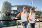 Max Chilton und Johnny Cecotto (Force India)
