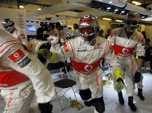 McLaren-Mechaniker