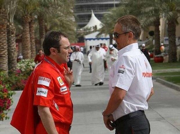 Stefano Domenicali und Martin Whitmarsh