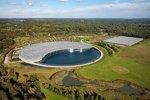 McLaren-Fabrik in Woking aus der Vogelperspektive