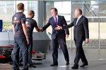 Ron Dennis und Premierminister David Cameron