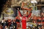 Der neue NASCAR-Champion Tony Stewart (SHR)