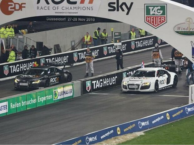Norbert Volberg im Audi R8 LMS