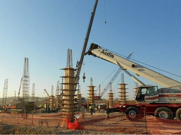 Bauarbeiten in Austin
