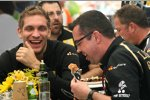 Witali Petrow (Renault) Eric Boullier