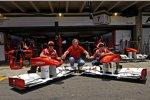 Fernando Alonso, Sponsor Eugene Kaspersky und Felipe Massa (Ferrari)