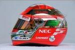 Helmdesign von Sergio Perez (Sauber)