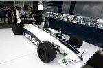 Nelson Piquet dreht Demorunden im Brabham-Ford BT49