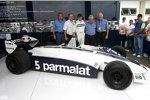 Nelson Piquet drehte Demorunden im Brabham-Ford BT49