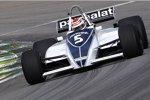 Nelson Piquet im Barbham-Ford BT49