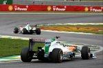 Paul di Resta (Force India) und Adrian Sutil (Force India)
