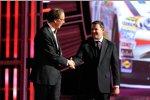 Sprint-Chef Dan Hesse und Tony Stewart