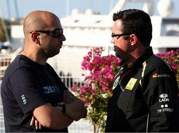 Gerard Lopez und Eric Boullier
