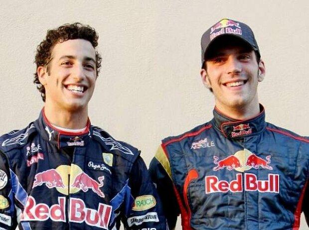 Daniel Ricciardo, Jean-Eric-Vergne