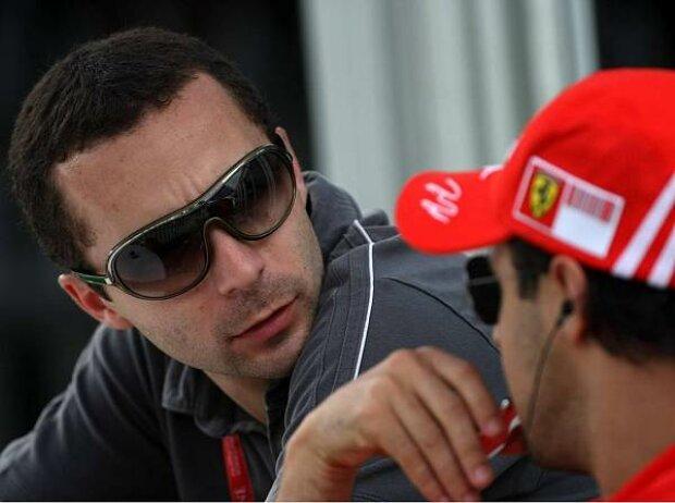 Felipe Massa und Nicolas Todt