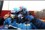 Zwei große Sieger: Yvan Muller (Chevrolet) und Robert Huff (Chevrolet)