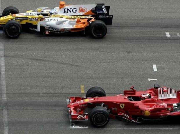 Kimi Räikkönen, Fernando Alonso