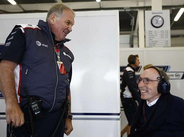 Patrick Head (Teammitbesitzer), Frank Williams (Teamchef)